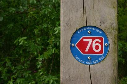 National bike trail at Kinneil