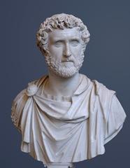 A bust of Antonius Pius