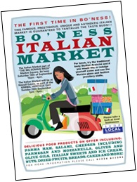 Italian poster Boness