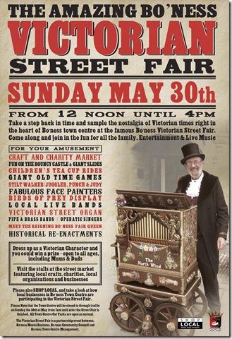 victorian wind organ poster