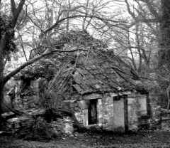 How Watt's workshop at Kinneil looked 100 years ago