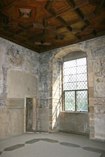 Inside the Parable Room at Kinneil House