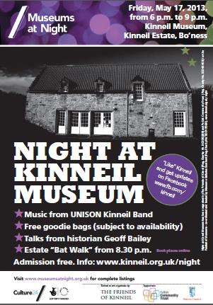 Night at Kinneil Museum 2013