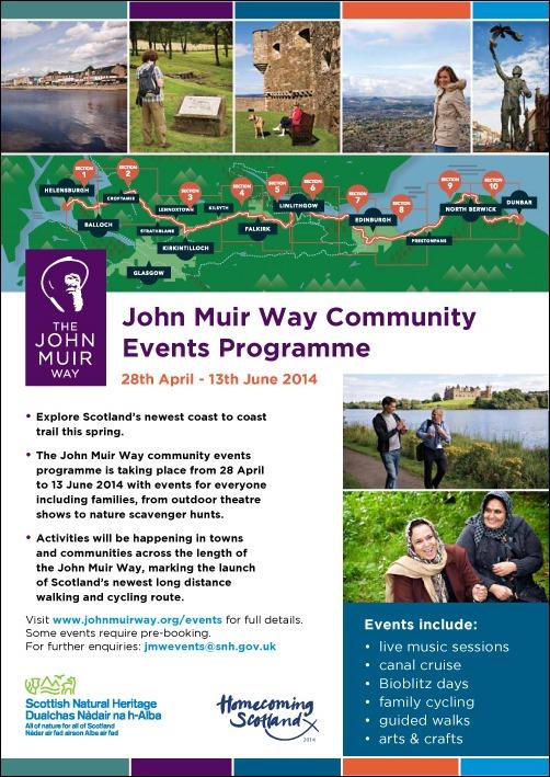 John Muir Events Flyer