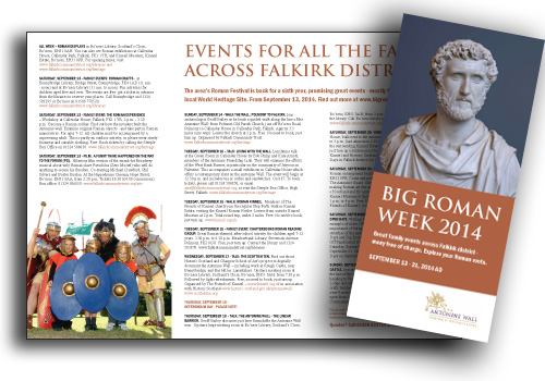 Big Roman Week Brochure 2014