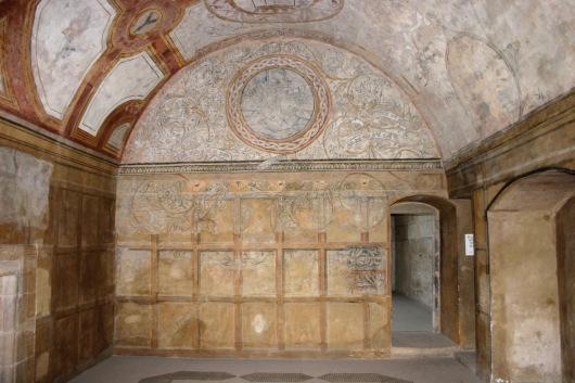 Inside Kinneil House