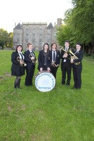 Kinneil Youth Band at Kinneil House