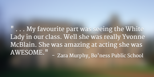 Quote about Kinneil by Zara Murphy