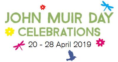 John Muir Day celebrations logo