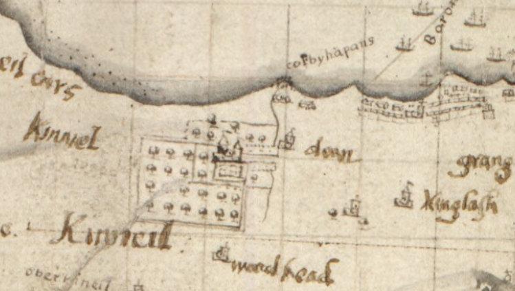 John Adair map 1684 CC by 4.0 NLS Maps web site