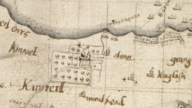 John Adair map 1684 CC by 4.0 NLS Maps web site
