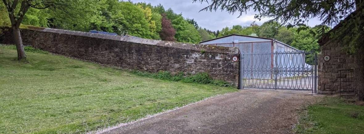 The Walled Garden at Kinneil.